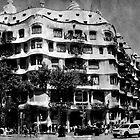 Casa Milà, La Pedrera by Vittorio Magaletti