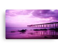 Pink Sunrise - Catherine Hill Bay Canvas Print