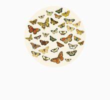 Fluttering Vintage Butterflies Unisex T-Shirt