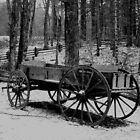 Wagon in the Smoky Mtns, NC by CathyS