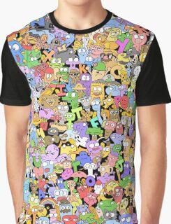 Alphabet Soup Graphic T-Shirt