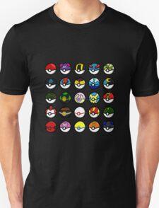 A Collection of Pokéballs T-Shirt