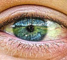 Detailed Blue Eye by honestyS2