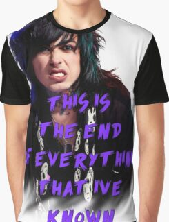 Ronnie Radke - This is the end Graphic T-Shirt
