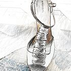 Tall Grey Sandal by Sarah Butcher