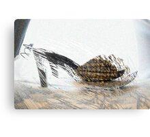 Picnic Sandals Canvas Print