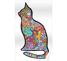 Meow Cats Poster