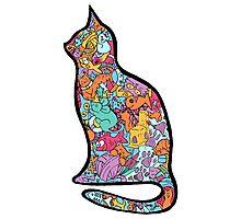 Meow Cats Photographic Print