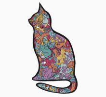 Meow Cats Kids Tee