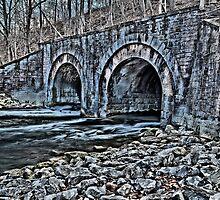 """ Railroad Bridge - Camillus, New York "" by DeucePhotog"