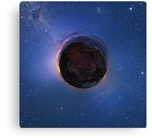 Little Planet Lovejoy Canvas Print