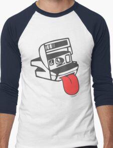 Camera Shy Men's Baseball ¾ T-Shirt