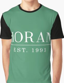 Niall Horan est. 1993 White Graphic T-Shirt