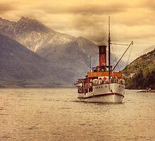 TSS Earnslow NZ. by Lyn Darlington
