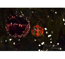 Christmas Bulbs Photographic Print
