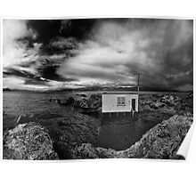 Boatshed from the Rocks Poster
