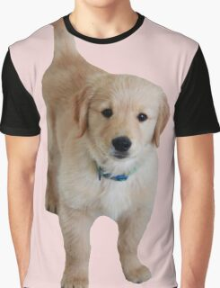 Cute Lil Puppy Graphic T-Shirt