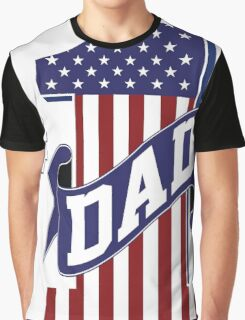 Number 1 Dad Graphic T-Shirt
