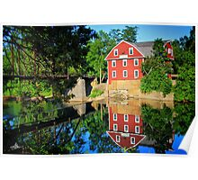 War Eagle Mill and Bridge, Arkansas Poster