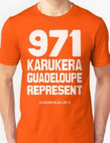 971 Karukera Guadeloupe Represent T-Shirt