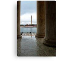 Washington Monument  Canvas Print
