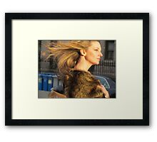 hair! Framed Print