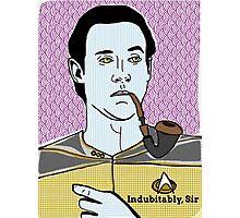 Lt. Commander Data of the starship Enterprise  Photographic Print