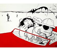 Fear and Loathing in Muppet Vegas Photographic Print