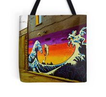 The Great Wave...Graffit style Tote Bag