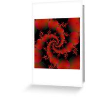 Tomato Spiral Greeting Card