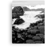 Giants Causway Canvas Print