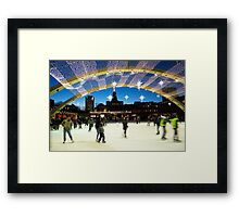 Nathan Phillips Square T.O Framed Print