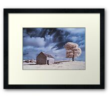 """""""Once upon a Hill in Derbyshire..."""" Framed Print"""