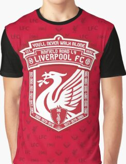 Liverpool FC - Alternate Logo / Badge Graphic T-Shirt