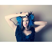 Ahnna In Blue 2 Photographic Print