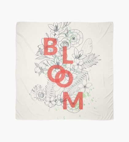 Bloom #redbubble Scarf