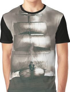Sailing in the storm Graphic T-Shirt