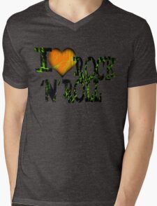 I love Rock & Roll Mens V-Neck T-Shirt