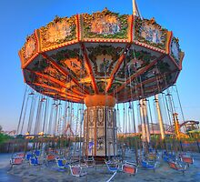 sit and spin by FLLETCHER
