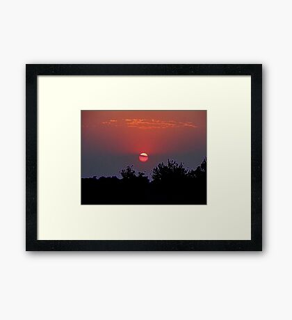 Even The Prairies Sing Of His Glory Framed Print