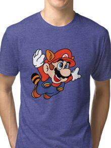 Tanooki Mario Tri-blend T-Shirt