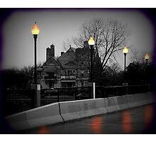 Lamp Post Light Photographic Print