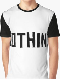 Nothing Graphic T-Shirt