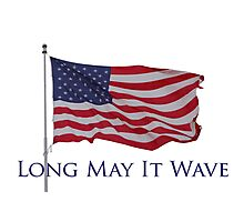 long may it wave Photographic Print
