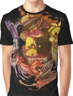 Five Nightmares of Freddy's Graphic T-Shirt