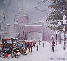 Gates of the Old City, Quebec by Dan Wilcox