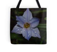 Canberra s flower after the rain Tote Bag
