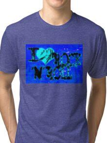 I love Rock & Roll Tri-blend T-Shirt