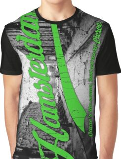 Hamsterdam - Cloud Nine Edition (Green) Graphic T-Shirt