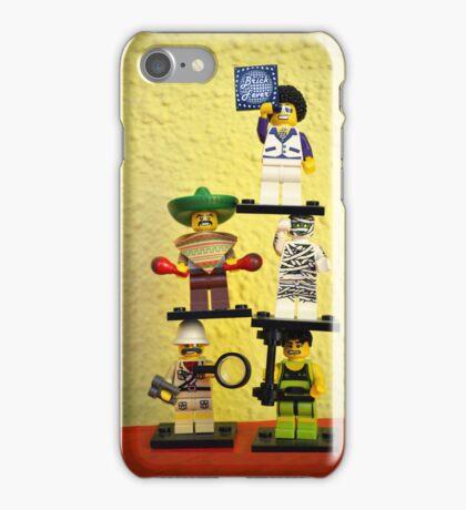 Brick fever iPhone Case/Skin
